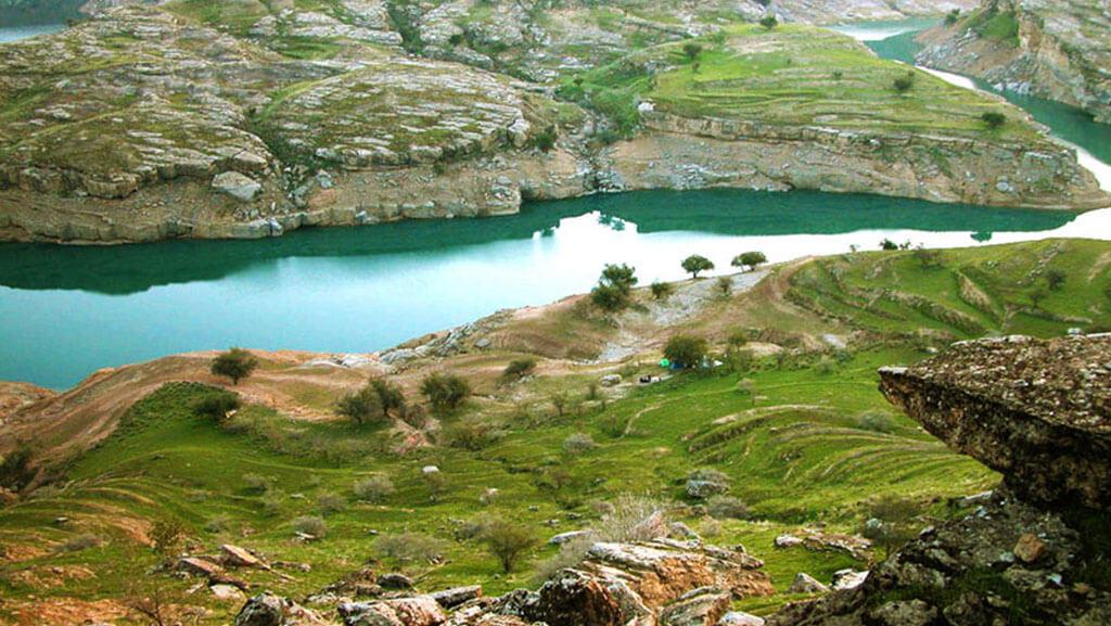 دریاچه شهیون خوزستان