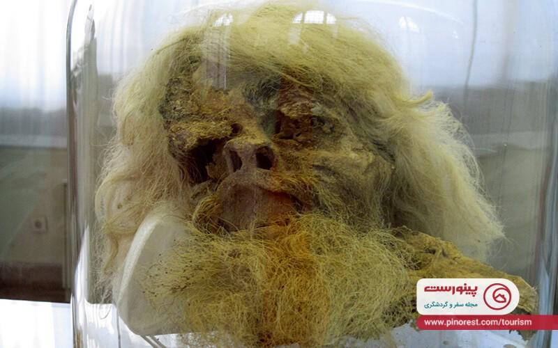 موزه مردان نمکی، کشف مومیایی از عصر هخامنش در معدنی اسرارآمیز