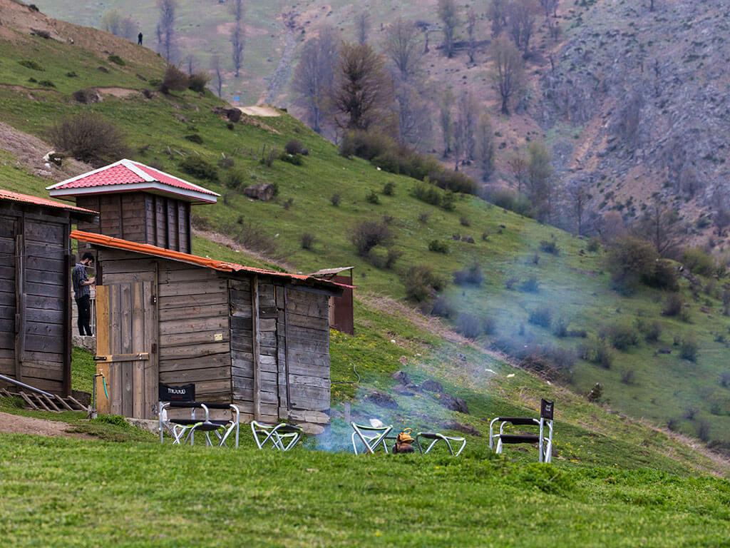 ماندن در کلبههای روستایی ییلاق اولسبلنگاه