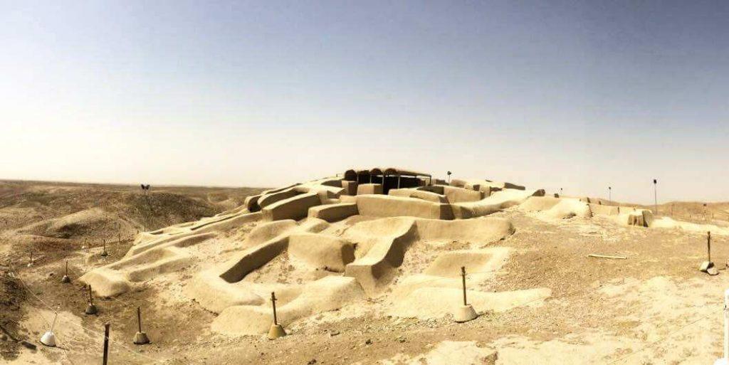 کشف شهر سوخته در جاده زاهدان زابل