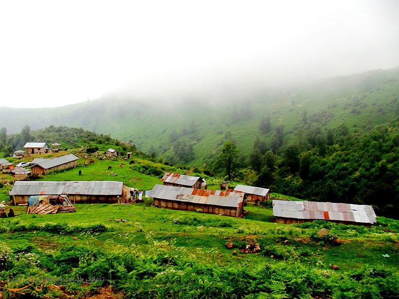 تصویر روستای مرتفع و سرسبز اولسبلنگاه