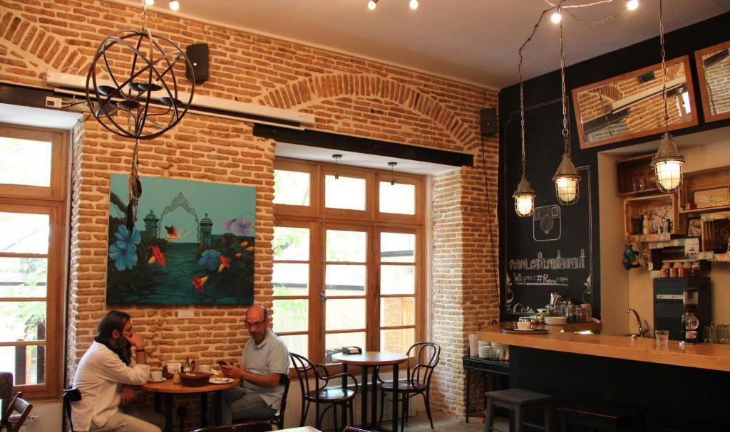 کافه ری ری، خانه قدیمیای که تبدیل یه یکی از شیک ترین کافه های تهران شده است