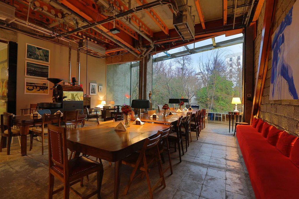 تصویری از سام کافه، یکی از شیک ترین کافه های تهران