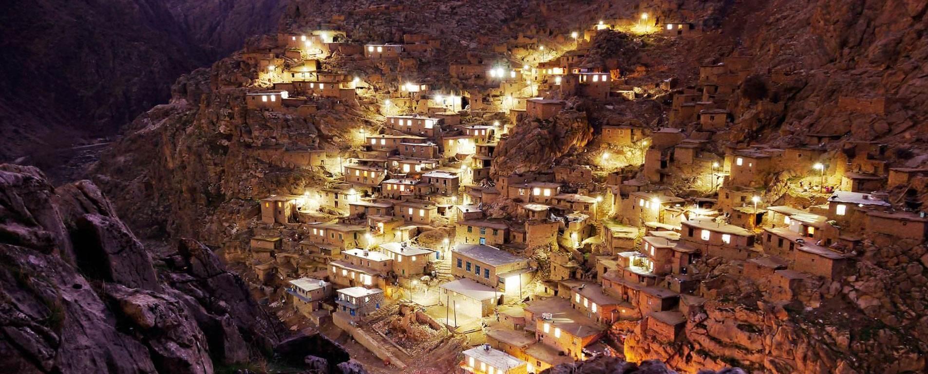 شب روستای پالنگان