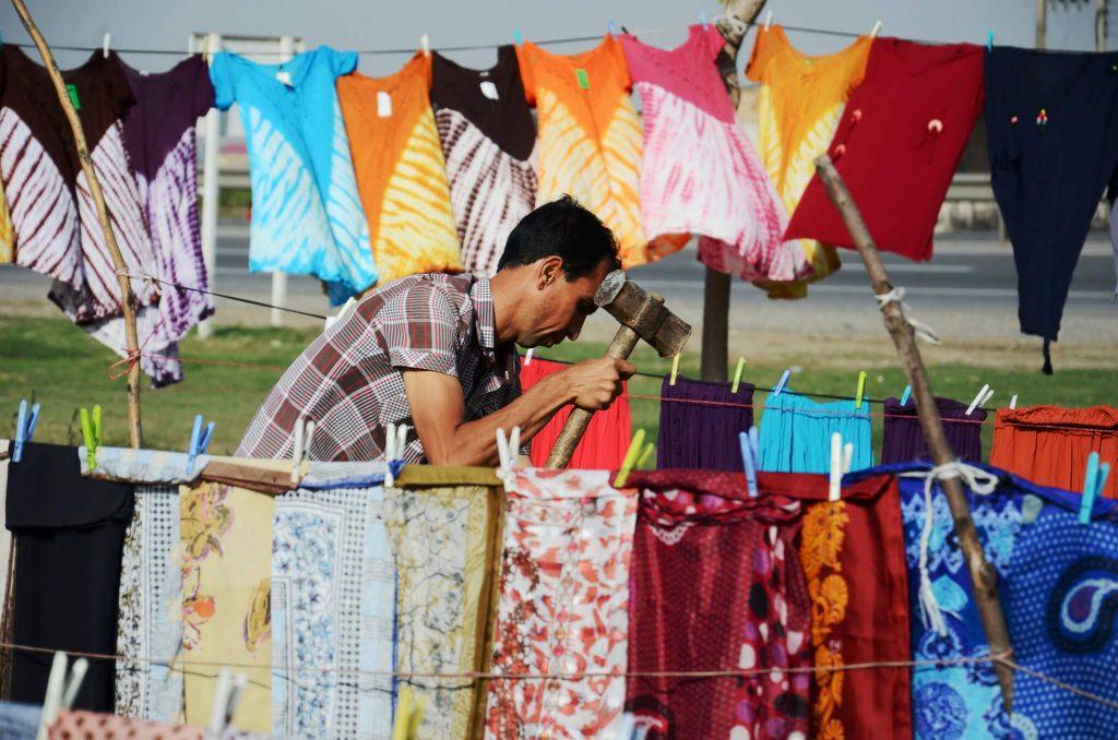 بازار مرزی در گنبد کاووس