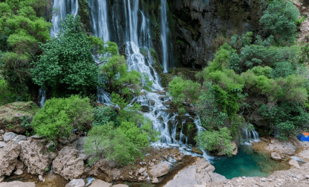 رسیدن به آبشار شوی راحت نیست