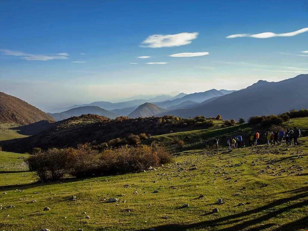 عبور از دره تل انبار گرگان