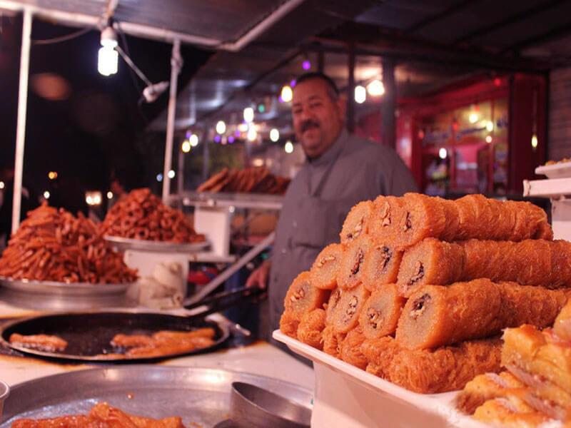خیابان لشکرآباد خوزستان محل زندگی شبانه اهواز