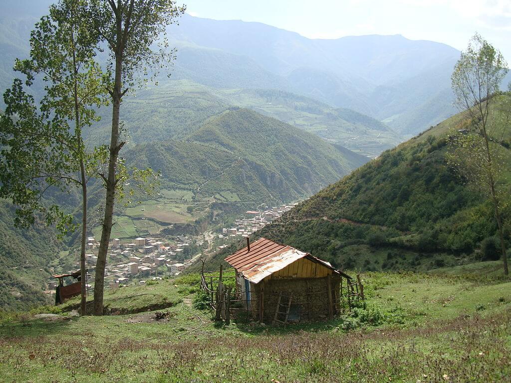 روستای زیارت در نزدیکی گرگان