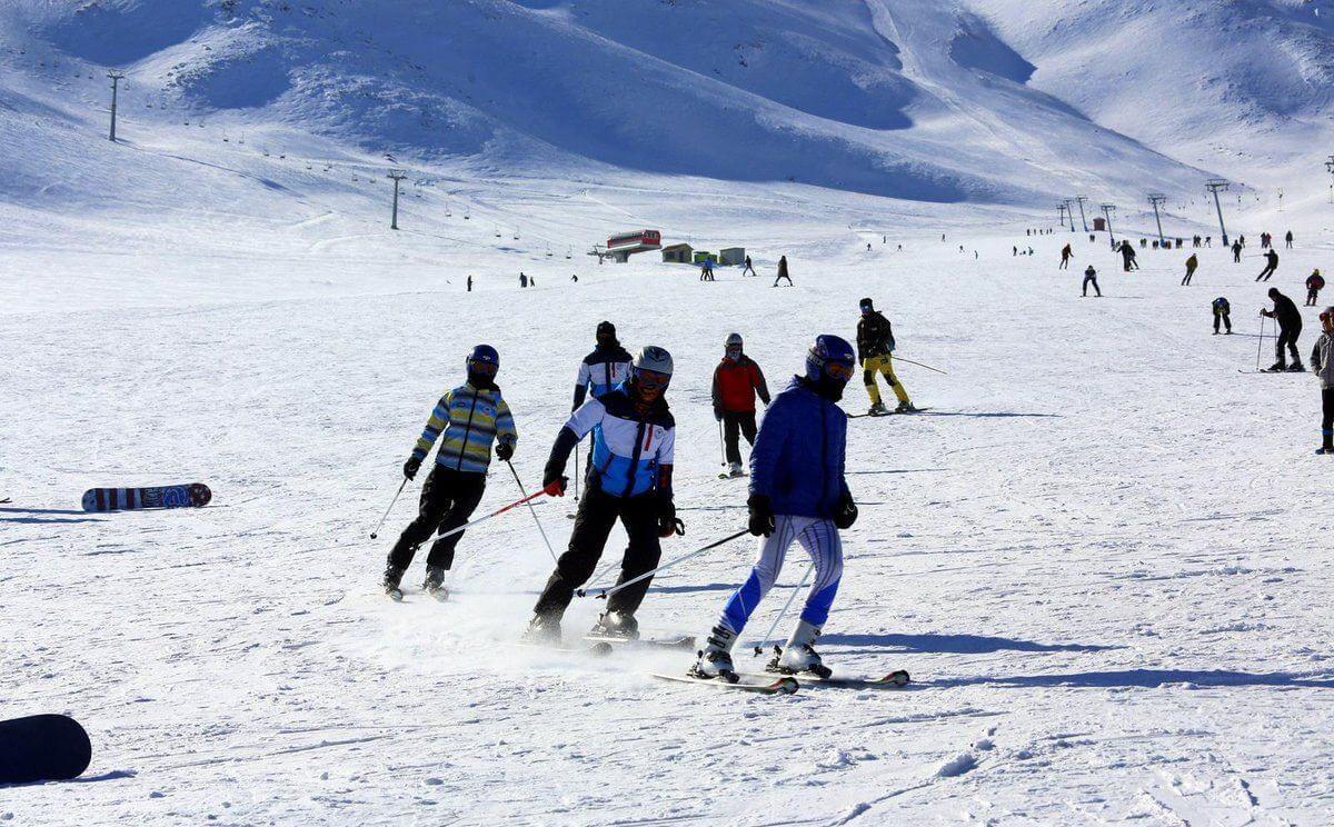 یکی از معروف ترین پیست های اسکی تهران؛ آبعلی