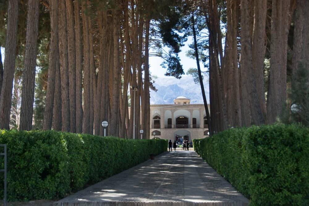 عمارت باغ اکبریه در بیرجند