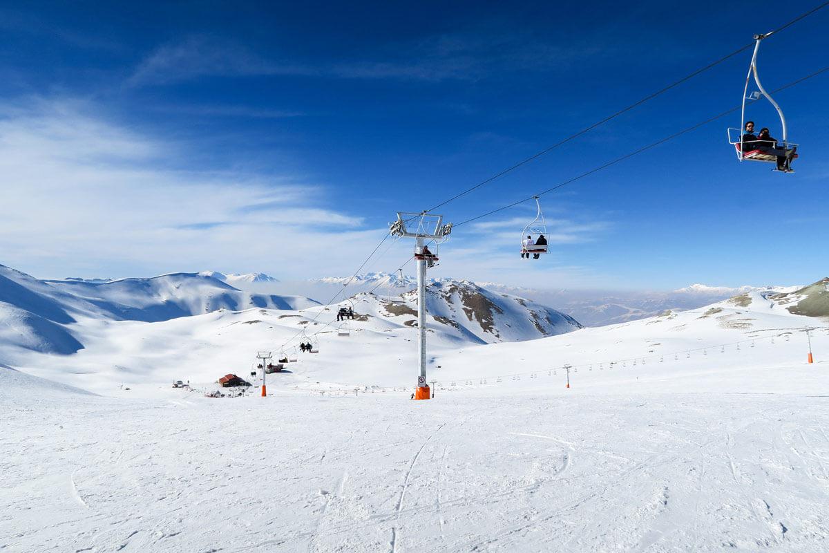 تله سیژ پیست اسکی دیزین؛از بزگترین پیست های اسکی تهران