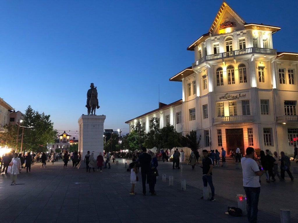 میدان شهرداری رشت