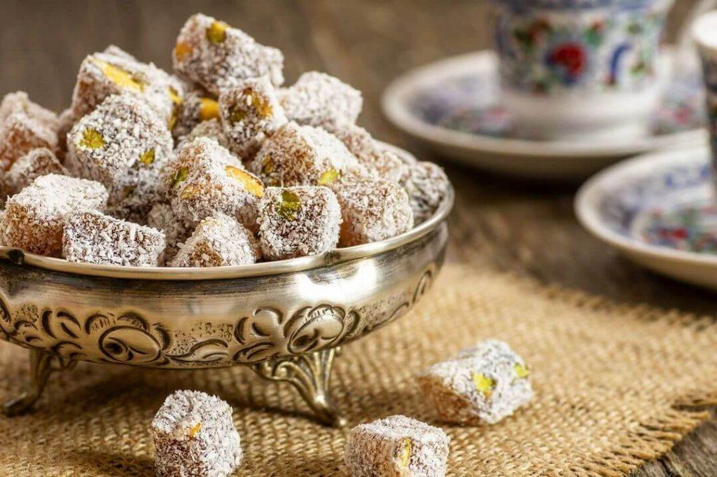 شیرینی راحت الحلقوم تبریزی