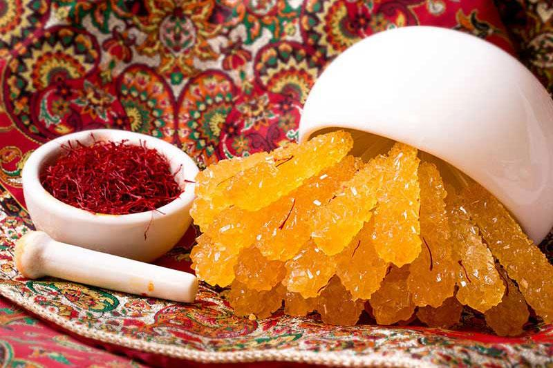 نبات از سوغات اصفهان