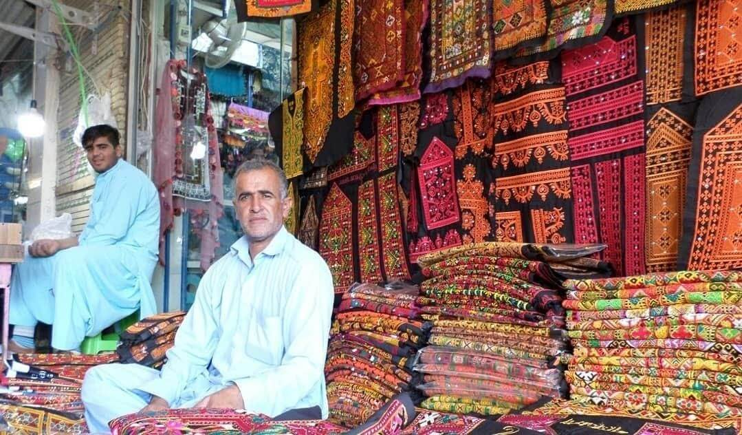 بازار سنتی و صنایع دستی سواحل مکران
