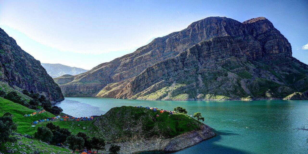 دریاچه سد شهید عباسپور