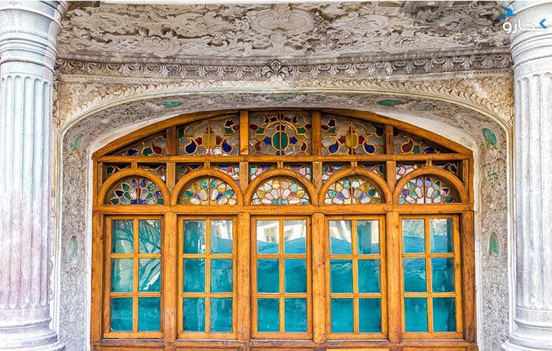 عمارت مسعودیه از موزه های تهران