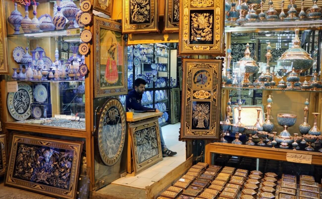 بازار صنایع دستی اصفهان