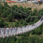 پل معلق مشگین شهر اردبیل