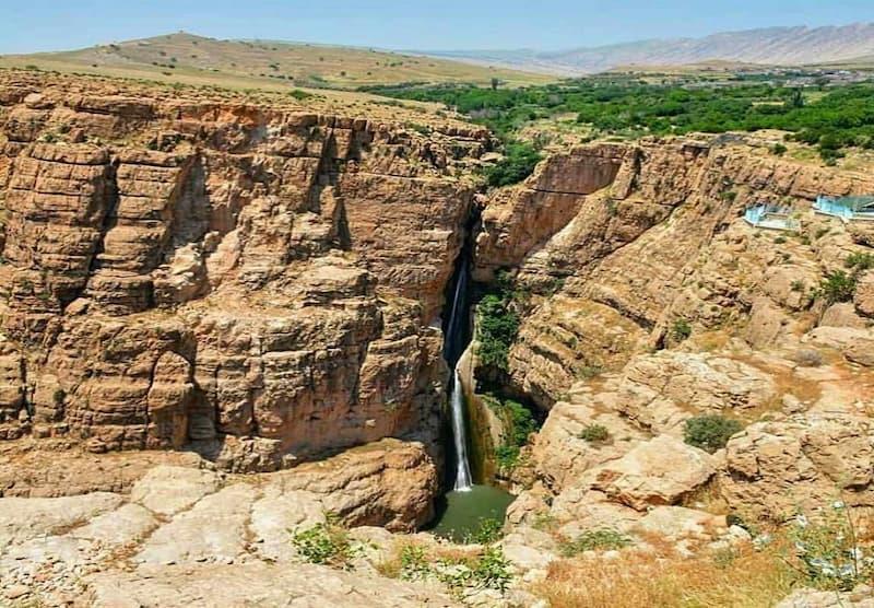 آبشار پیران، مناسب صخره نوردی