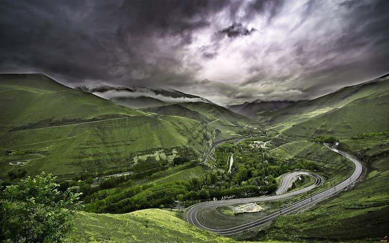 جاده هراز ؛ خطرناک اما زیبا و چشمنواز