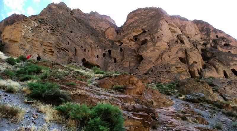 غارهای سنگی کافرکلی