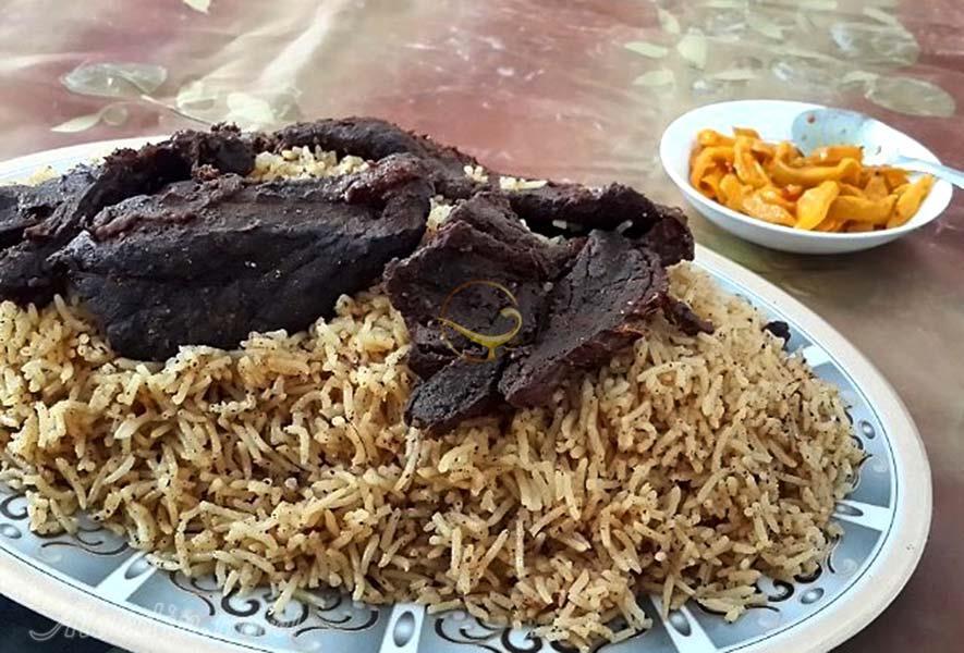 غذای محلی بلوچ تباهگ
